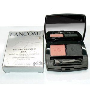 LANCOME Velvet Corail Ombre Absolue Eyeshadow Duo